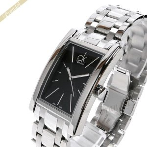 カルバンクライン Calvin Klein メンズ 腕時計 リファイン ブラック×シルバー K4P211.41|brandol