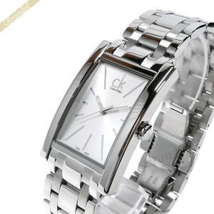 カルバンクライン Calvin Klein メンズ 腕時計 リファイン シルバー K4P211.46 [在庫品]|brandol