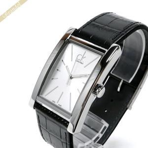 カルバンクライン Calvin Klein メンズ 腕時計 リファイン シルバー×ブラック K4P211.C6 [在庫品]|brandol
