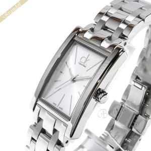 カルバンクライン Calvin Klein レディース 腕時計 リファイン シルバー K4P231.46 [在庫品]|brandol