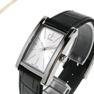 カルバンクライン Calvin Klein レディース 腕時計 リファイン シルバー×ブラック K4P231.C6 [在庫品]|brandol