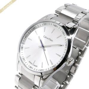 カルバンクライン Calvin Klein メンズ 腕時計 ボールド 41mm シルバー K5A311.46 [在庫品]|brandol