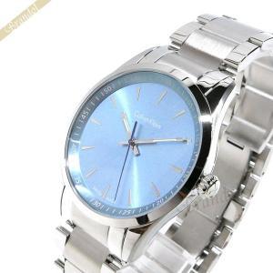 カルバンクライン Calvin Klein メンズ 腕時計 ボールド 41mm ライトブルー×シルバー K5A311.4X|brandol