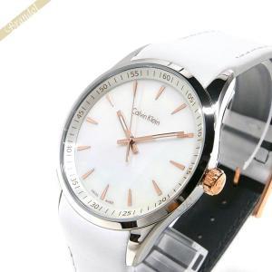 カルバンクライン Calvin Klein メンズ 腕時計 ボールド 41mm ホワイト K5A31BLG|brandol