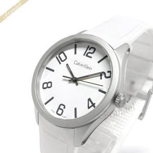 カルバンクライン Calvin Klein メンズ腕時計 カラー 40mm シルバー×ホワイト K5E511.K2|brandol