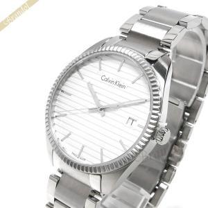 カルバンクライン Calvin Klein メンズ 腕時計 アライアンス 40mm シルバー K5R311.46 [在庫品]|brandol