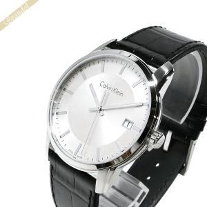 カルバンクライン Calvin Klein メンズ 腕時計 インフィニート 42mm シルバー×ブラック K5S311.C6 [在庫品]|brandol