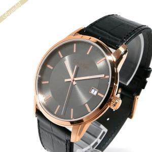 カルバンクライン Calvin Klein メンズ 腕時計 インフィニート 42mm グレー×ブラック K5S316.C3 [在庫品]|brandol