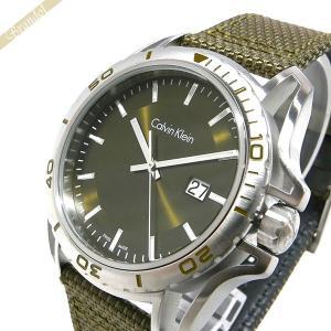 カルバンクライン Calvin Klein メンズ 腕時計 アース 44m カーキ K5Y31X.WL [在庫品]|brandol