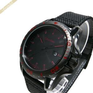 カルバンクライン Calvin Klein メンズ 腕時計 アース 44m ブラック K5Y31Z.B1 [在庫品]|brandol