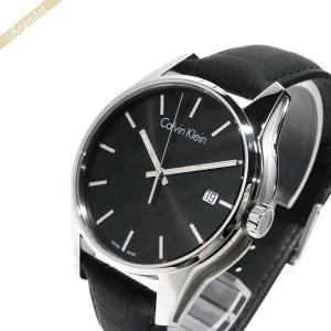 カルバンクライン Calvin Klein メンズ 腕時計 トーン 44mm ブラック K7K411.C1|brandol