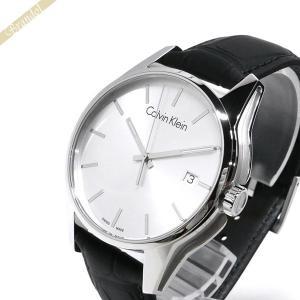カルバンクライン Calvin Klein メンズ 腕時計 トーン 41mm シルバー×ブラック K7K411.C6 [在庫品]|brandol