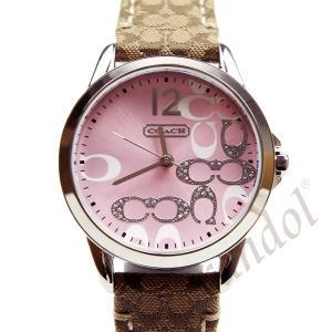615c1f288551 コーチ ピンク レディース腕時計 クラシック シグネチャー 14501621 32mm