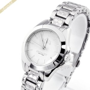 コーチ COACH レディース腕時計 トリステン ミニ ブレスレット ロゴマーク 28mm シルバー 14502183 [在庫品]|brandol