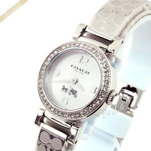 コーチ COACH レディース腕時計 マディソン ラインストーン シグネチャー バングルウォッチ 24mm シルバー 14502201 [在庫品] brandol