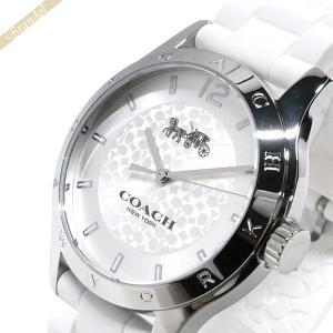 コーチ COACH レディース 腕時計 MADDY マディー 39mm ホワイト×シルバー 14502218 [在庫品]|brandol