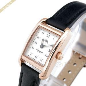 コーチ COACH レディース腕時計 トンプソン スクエア ローズゴールド×ブラック 14502451 [在庫品]|brandol
