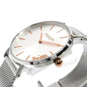 コーチ COACH レディース腕時計 Perry ペリー 馬車モチーフ 36mm シルバー 14503124 [在庫品] brandol 04