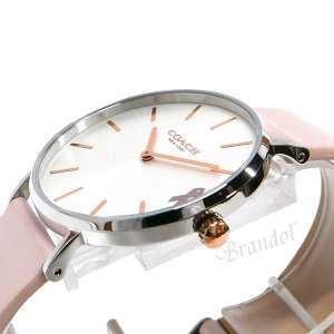 コーチ COACH レディース腕時計 Perry ペリー 36mm シルバー×ピンク 14503128 [在庫品] brandol 04