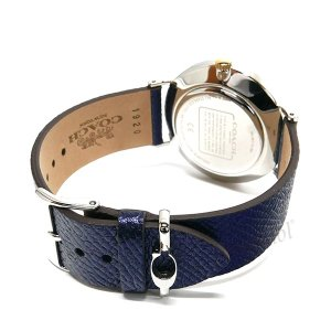 コーチ COACH レディース腕時計 Perry ペリー 馬車モチーフ メタリック ベルト 36mm シルバー×ネイビー 14503156|brandol|05