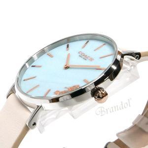 コーチ COACH レディース腕時計 Perry ペリー 36mm ライトブルー×ホワイト 14503270 [在庫品]|brandol|04