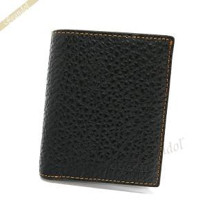 683ea3013f25 コーチ COACH メンズ 二つ折り財布 レザー ブラック F11989 BLK 【コーチアウトレット】 [在庫品]