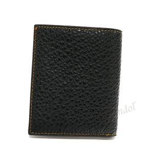 コーチ COACH メンズ 二つ折り財布 レザー ブラック F11989 BLK 【コーチアウトレット】 [在庫品]|brandol|02