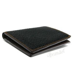 コーチ COACH メンズ 二つ折り財布 レザー ブラック F11989 BLK 【コーチアウトレット】 [在庫品]|brandol|03