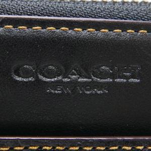 コーチ COACH メンズ ラウンドファスナー長財布 レザー ブラック F12130 BLK 【コーチアウトレット】 [在庫品]|brandol|05