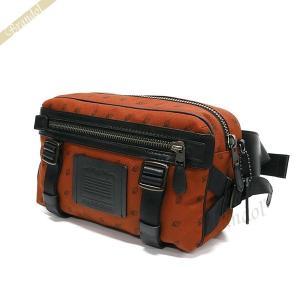 コーチ COACH メンズ ボディバッグ ユーティリティー パック ウェストバッグ オレンジ系 F29499 JINJR 【コーチアウトレット】 [在庫品]|brandol