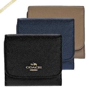 コーチ COACH 財布 レディース 三つ折り財布 スモール ウォレット クロスグレイン レザー F53716 【コーチアウトレット】[在庫品]|brandol