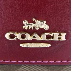 コーチ COACH レディース 長財布 シグネチャー ボルドー×ベージュ F54022 IMD0B 【コーチアウトレット】 [在庫品]|brandol|05