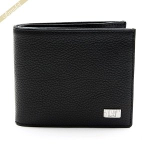 ダンヒル dunhill メンズ 二つ折り財布 AVORITIES アボリティーズ レザー ブラック L2R932A [在庫品]|brandol