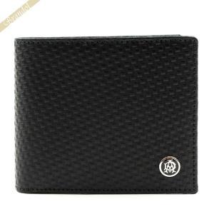 ダンヒル dunhill メンズ 二つ折り財布 マイクロ D-EIGHT レザー ブラック L2V332A [在庫品]|brandol