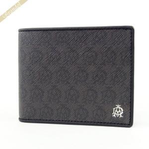 ダンヒル dunhill メンズ 二つ折り財布 WINDSOR ウィンザー グレー L2W732Z [在庫品]|brandol