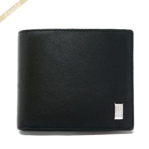 ダンヒル dunhill メンズ 二つ折り財布 SIDECAR サイドカー レザー ブラック QD3070 [在庫品]|brandol