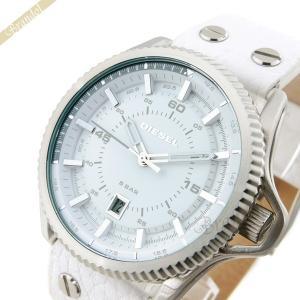 ディーゼル DIESEL メンズ腕時計 ロールゲージ 46mm ホワイト DZ1755 [在庫品]|brandol