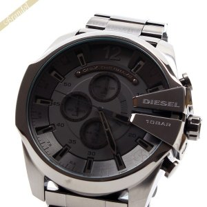 ディーゼル DIESEL メンズ腕時計 メガチーフ クロノグラフ Mega_Chief 52mm ガンメタル DZ4282 [在庫品]|brandol
