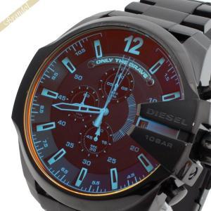 ディーゼル DIESEL メンズ腕時計 メガチーフ クロノグラフ 偏光ガラス Mega Chief 52mm ブラック DZ4318|brandol