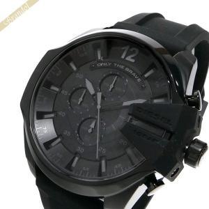 ディーゼル DIESEL メンズ 腕時計 メガチーフ クロノグラフ Mega Chief 52mm オールブラック DZ4378 [在庫品]|brandol