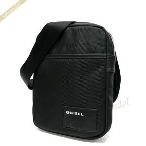 ディーゼル DIESEL メンズ ショルダーバッグ FUZZY ナイロン ミニショルダー ブラック X03005 P0409 H1669 [在庫品]|brandol