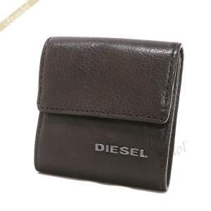 ディーゼル DIESEL メンズ 小銭入れ KOPPER レザー コインケース ブラウン X03920 PR271 T2189 [在庫品]|brandol