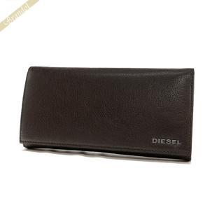ディーゼル DIESEL メンズ 長財布 24 A DAY レザー ブラウン X03928 PR271 T2189 [在庫品]|brandol