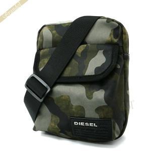 ディーゼル DIESEL メンズ ショルダーバッグ CLOSE RANKS F-CLOSE グリーン系 X04010 PR027 H5254 [在庫品]|brandol