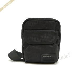 ディーゼル DIESEL メンズ ショルダーバッグ 斜めがけ ブラック X04010 PR027 T8013 [在庫品]|brandol