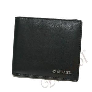 ディーゼル DIESEL 財布 メンズ 二つ折り財布 FRESH STARTER HIRESH S レザー ブラック×レッド X04459 PR227 H5644 【2017年秋冬新作】[在庫品]|brandol|02