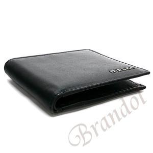 ディーゼル DIESEL 財布 メンズ 二つ折り財布 FRESH STARTER HIRESH S レザー ブラック×レッド X04459 PR227 H5644 【2017年秋冬新作】[在庫品]|brandol|04