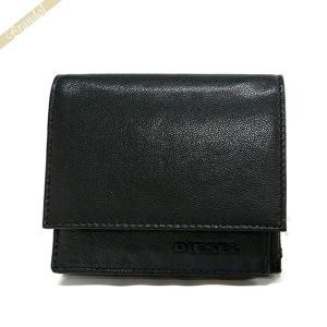 ディーゼル DIESEL 財布 メンズ 小銭入れ ゴートレザー コインケース ブラック×イエロー X04769 PR227 H3350 [在庫品]|brandol