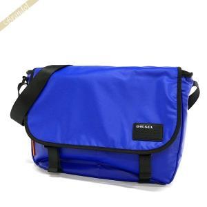 ディーゼル DIESEL メンズ ショルダーバッグ F-DISCOVER MESSENGER メッセンジャー ブルー X04814 P1157 T6050 [在庫品]|brandol