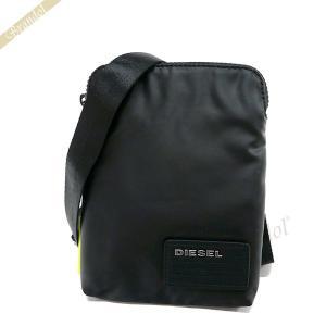 ディーゼル DIESEL メンズ ショルダーバッグ F-DISCOVER サコッシュ ブラック X04815 P1157 T8013 【2018SS】 [在庫品]|brandol
